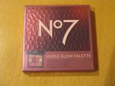No7 Maple Glow Palette New/Boxed