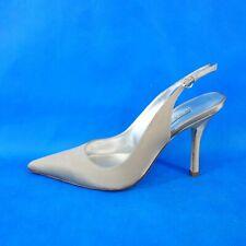 Pura Lopez Designer Damen Schuhe Pumps Sandaletten Slingback Camel Np 169 Neu