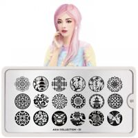 Moyou london stamping plate ,original Asia 01 stamp nails collection