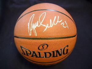 Dominique Wilkins Autographed Spalding NBA Basketball Atlanta Hawks/ JSA