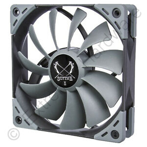 Scythe Kaze Flex 120 120mm Case Fan 1200 RPM 51.17 CMF 24.9 dBA 3-Pin