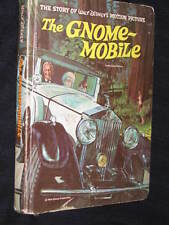 WALT DISNEY THE GNOME-MOBILE HARD COVER BOOK WALTER BRENNAN GARBER DOTRICE WYNN
