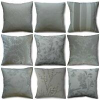 Designer Cushion Covers Handmade in Laura Ashley's Dove Grey Fabrics Various