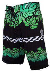 "Hawaiian Island Creations (HIC) 20"" Mansions 8 Way Stretch Boardshorts"