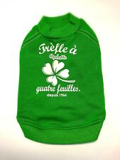 Spring St Patrick's Day Pet Puppy Small Dog Clothes Japan Cute Medium Japanese