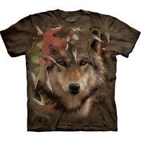 Wolf Autumn Encounter T-Shirt