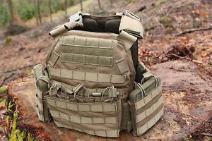 STORMBREAKER Plattenträger M4/AK47 von GRIMTAC in Farbe Olivgrün