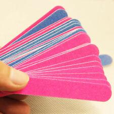 20PCS Sanding File Buffer Nail Art Tips For Salon Manicure UV Gel Polisher Tool