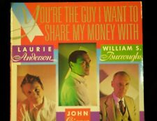 YOU'RE THE GUY I WANT TO SPEND MY MONEY WITH W. Burroughs Anderson Giorno VINYL