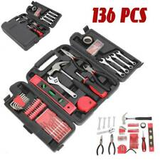 136-Pcs Mechanics Tool Set Workshop Equipment General...