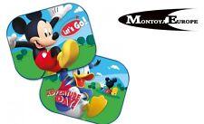 2x Mickey Mouse Disney Parabrisas Parasol CLARO niños infantil UV Gafas