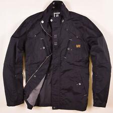 G-Star Herren Jacke Jacket Gr.XXL (wie XL) Solid Schwarz, 50331