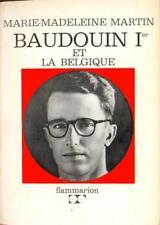 BAUDOUIN Ier et la Belgique EO 1964 Envoi de l'auteur Noblesse Histoire Royauté