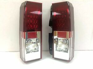 FITS GM HUMMER H3 2005-2010 L.E.D TAIL LIGHT RED/CLEAR