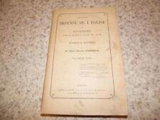 1890.Nouvelle défense de l'église.3e série.Charles Rossignol
