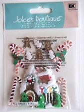 Jolee's Boutique Pegatinas-Casa De Pan De Jengibre Navidad