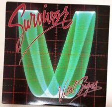 Survivor (1984 Promo LP Vinyl Cleaned Playtested FZ39578 1st Press) Vital Signs