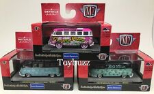 M2 Machines 1:64 Set of 3 VOLKSWAGEN VW MJ Exclusive Big Kahuna 32500-MJS02