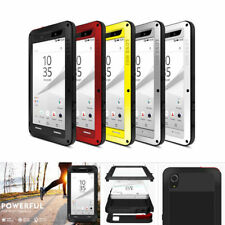 Love Mei Gorilla Glass Shockproof Metal Armor Case for Sony HTC OPPO Phones