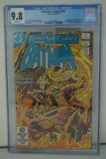 D.C. COMICS CGC 9.8 DETECTIVE COMICS #523 02/83 WHITE PAGES