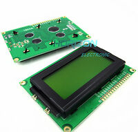 LCD1604 16x4 Character LCD Display Module LCM Yellow Blacklight 5V Arduino Good