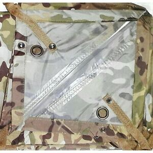 HOOTCHIE MULTICAM 278X186CM 560 GRAMS TAPED SEAMS HOOCHIE ARMY, CADET, BASHA