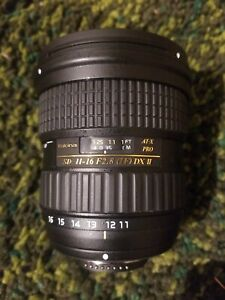 TOKINA SD 11-16mm F/2.8 IF DX II LENS FOR NIKON