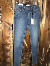 Yummie By Heather Thomson Super Skinny Jeans Medium Indigo Size 25