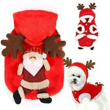 Christmas Pets Cats Dogs Coats Puppy Fancy Xmas Sweater Jumper Pullover Clothes