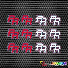 12x  World Baseball Classic WBC Puerto Rico PR Logo Vinyl Stickers decals