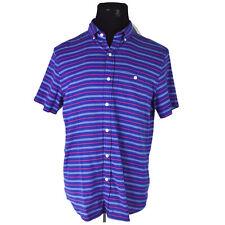 NEW Vineyard Vines Murray Shirt M Sailors Red Blue Shoal Stripe Slim Fit $90