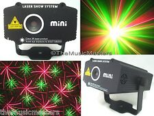 Mini Red Green Real Laser Light DJ Stage Show Dancing Disco Party Lamp Projector
