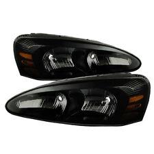 Pontiac 04-08 Grand Prix Black Housing Smoke Lens Replacement Headlights GTP GXP