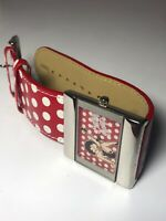 Betty Boop Quartz Watch With Red And White Polka Dot Strap (389)