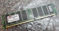 1GB Kingston KVR333X64C25/1G PC2700U 333MHz DDR1 Non-ECC Computer Memory RAM
