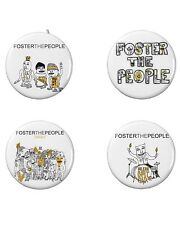 Foster the People Button Set (4) 1 1/4''