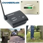Chamberlain Wireless Motion Detector Alert CWA2000 Driveway Porch Alarm System