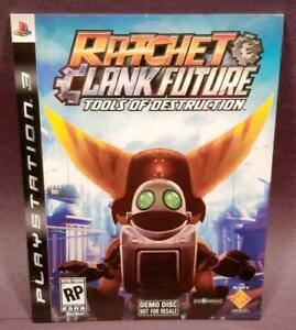 Ratchet & Clank Future: Tools of Destruction Brand New DEMO Disc PlayStation 3