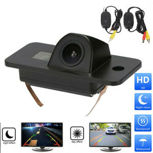 CCD Rückfahrkamera mit Funk Transmitter Einparkkamera 12V Für Audi A8 2004-2013