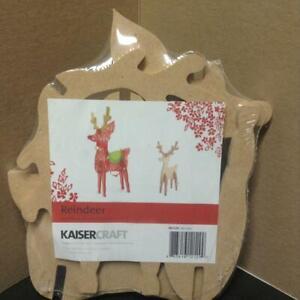KAISERCRAFT REINDEER KIT SB2129 KAISER CRAFT  BRAND NEW