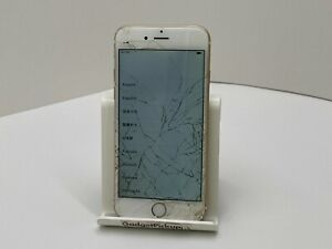 Apple iPhone 6 - 32GB, Gold A1586 - IC LOCKED/FMI ON, CRACKED SCREEN