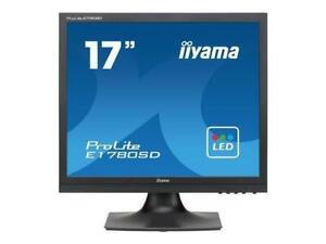 """iiyama PROLITE E1780SD-B1 17"""" Monitor 17"""" Display TN Panel 1280x1024 Resolution"""