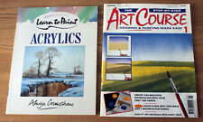 Collins Learn to Paint Acrylics, Alwyn  Crawshaw & The Step-By-Step Art Course 1