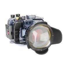 Seafrogs 60M Unterwasser Tauchen Gehäuse für Sony A6500 A6300 A6000 + Dome Port