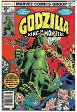 GODZILLA #1 VF 1977 KING OF THE MONSTERS DOUG MOENCH HERB TRIMPE MARVEL COMICS