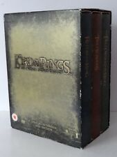 THE LORD OF THE RINGS THE MOTION PICTURE TRILOGY SPECIAL EXTENDED DVD BOX SET
