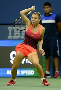 SIMONA HALEP sexy busty tennis player ~ 4x6 GLOSSY PHOTO ~ candid #7