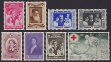 Belgique Belgium 1939 Stamps set Cob#496/503 Red Cross - Unused MNH Luxe...A5312