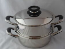 ORIGINALE AMC ensemble des casseroles 3,5 & 4,9 réf. visiotherm secuquickund