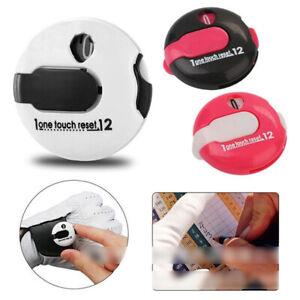 Mini Golf Score Counter Clicker Scorekeeper Scoring Clip auf Handschuh 3cm SDMZ